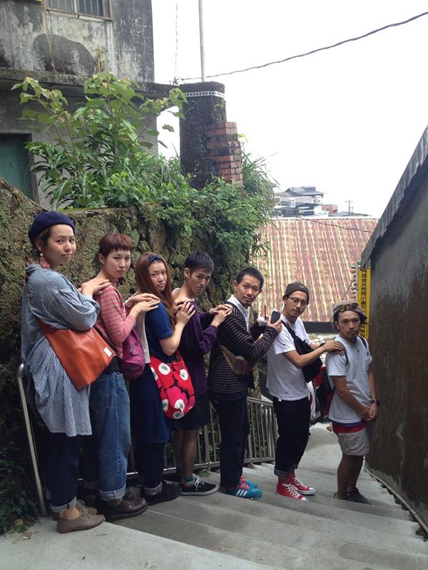 社員旅行も毎年実施。写真は台湾での社員旅行で