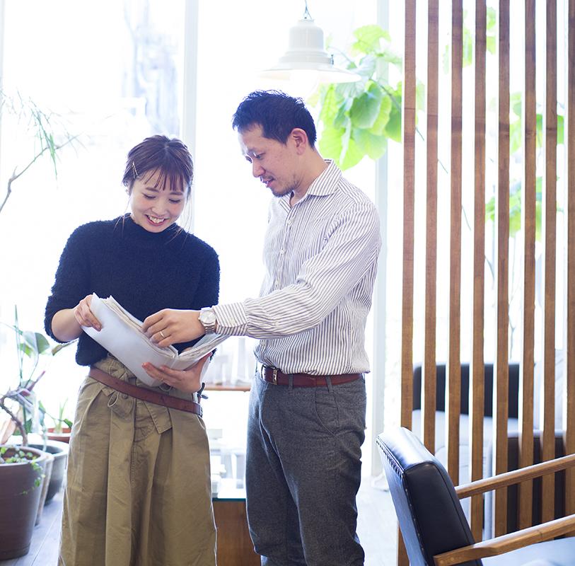 大阪梅田店の店長・徳永さん(左)が妊娠して退職した際も、オーナーの寺田さんは「続けて欲しい」と依頼していたので、徳永さんが「復帰したい」と言ったとき、すぐに快諾したそう