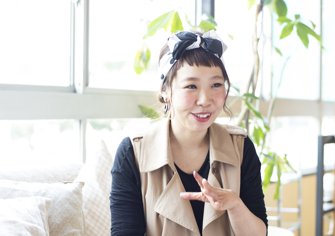 「formage」でママスタイリストとして活躍する澤田さんもフレックス制度を利用。「子育てと仕事、たのしく両立できています」と教えてくれました