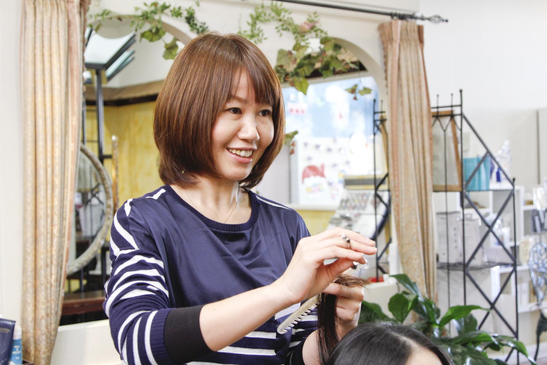 取締役の鈴木さんも、短時間正社員制度を活用しながら活躍しているママのひとり