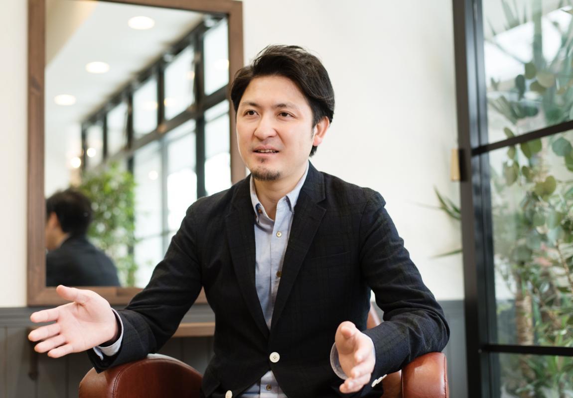 1年にひとつは、会社やスタッフのためになることを成し遂げる、と語るオーナーの舟津さん