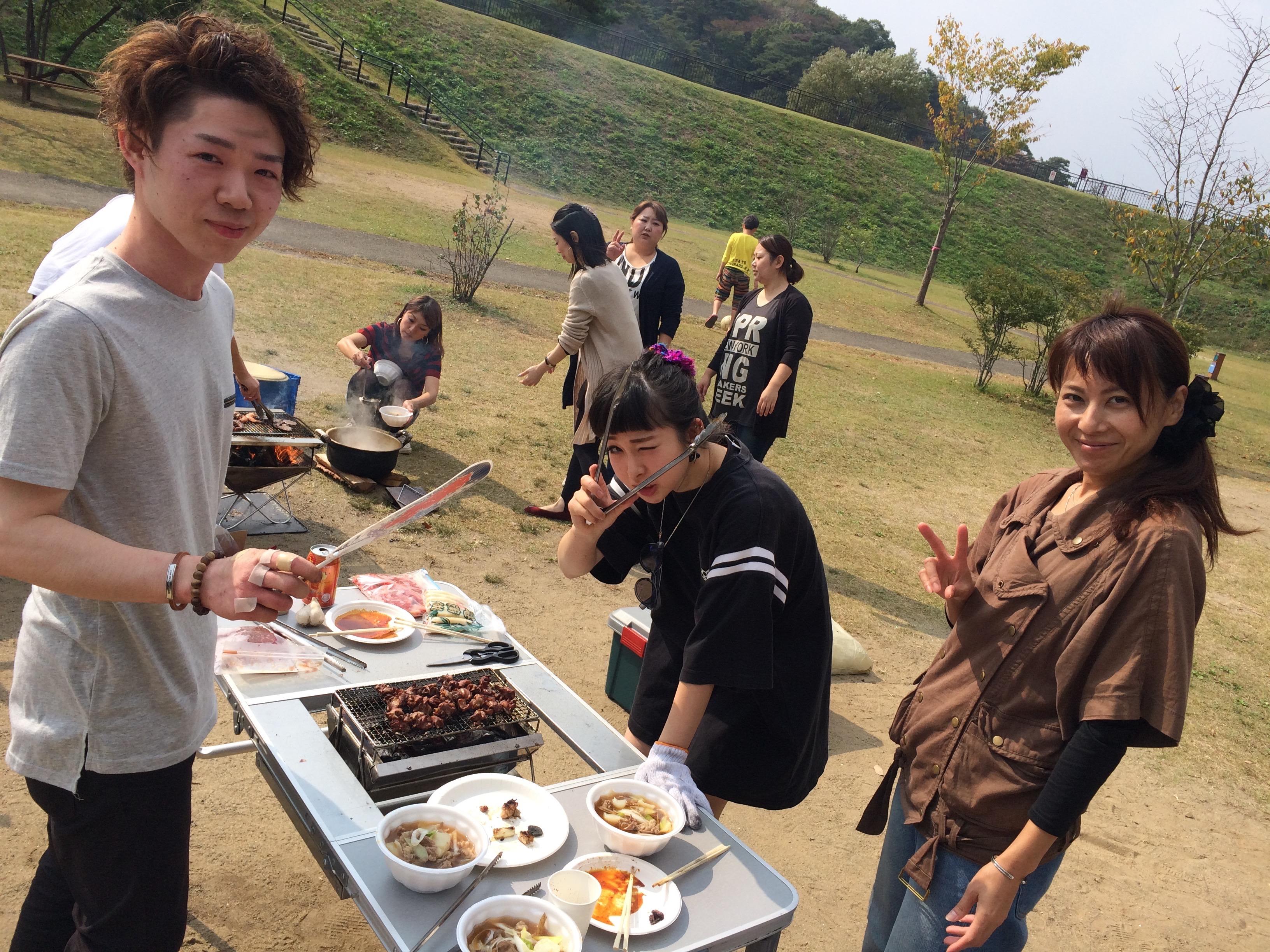 東北ならではの「芋煮会」は、スタッフもその家族も楽しみにしている秋の恒例行事