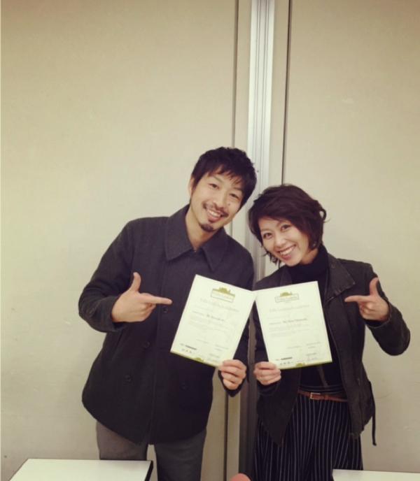 オーナーの伊藤さんは、ママスタッフの高橋奈美さんと一緒に、イタリア発の高級オーガニックカラーの資格を取得した