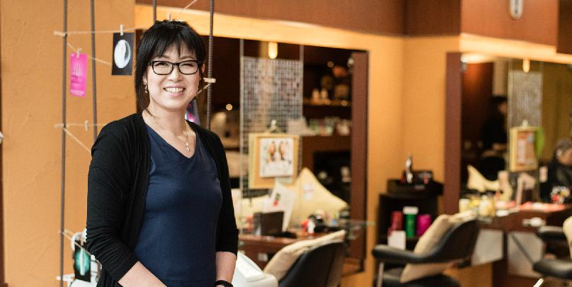 田中恵美子さん/3回の出産と、がん闘病を乗り越えたママ店長。 UNIXで初の産休&キャリア20年の道のりとは?