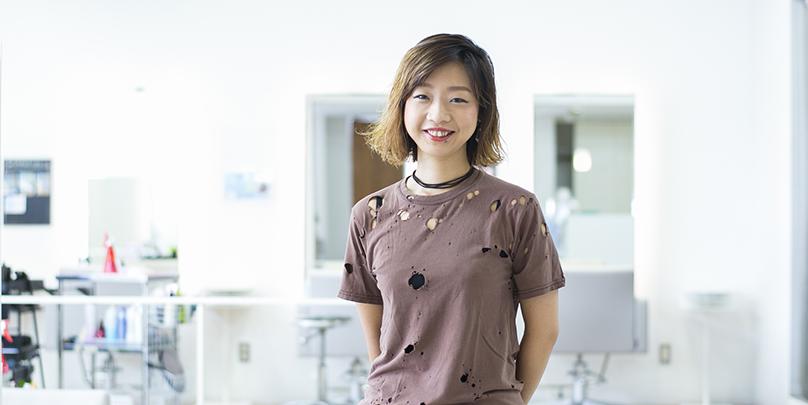 笹井千絵さん /アシスタントで妊娠しても、あきらめない。時短で月140万を達成し、さらに上を目指す!