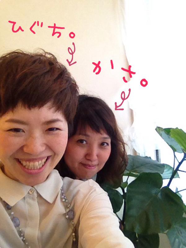「Plus 稲野店」の笠さん(右)と樋口さん(左)。笠さんは創業当初から、樋口さんは16年前からのメンバー