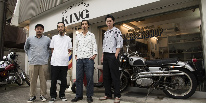 barbershop KING/関東全域からファンが集まるバーバー。 古き良き男の世界で、唯一無二の存在に。