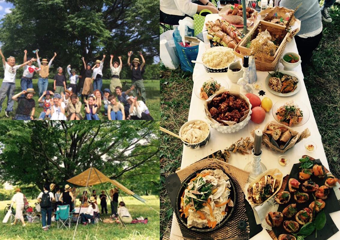 スタッフみんなで手料理を持参してピクニックにいくなど、コミュニケーションをはかるイベントが多い