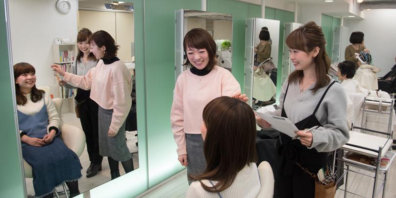 美容室 スプラッシュ/若者女子の言葉にならない本音までスルスル引き出すカウンセリング術とは?