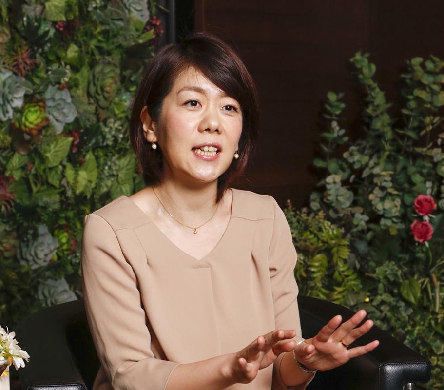 大川さんご自身もセラピストからスタートし、取締役までキャリアをアップさせてきたロールモデルの代表だ