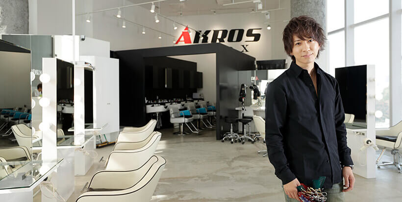 「AKROS GRAND X」代表 松本拓馬さん