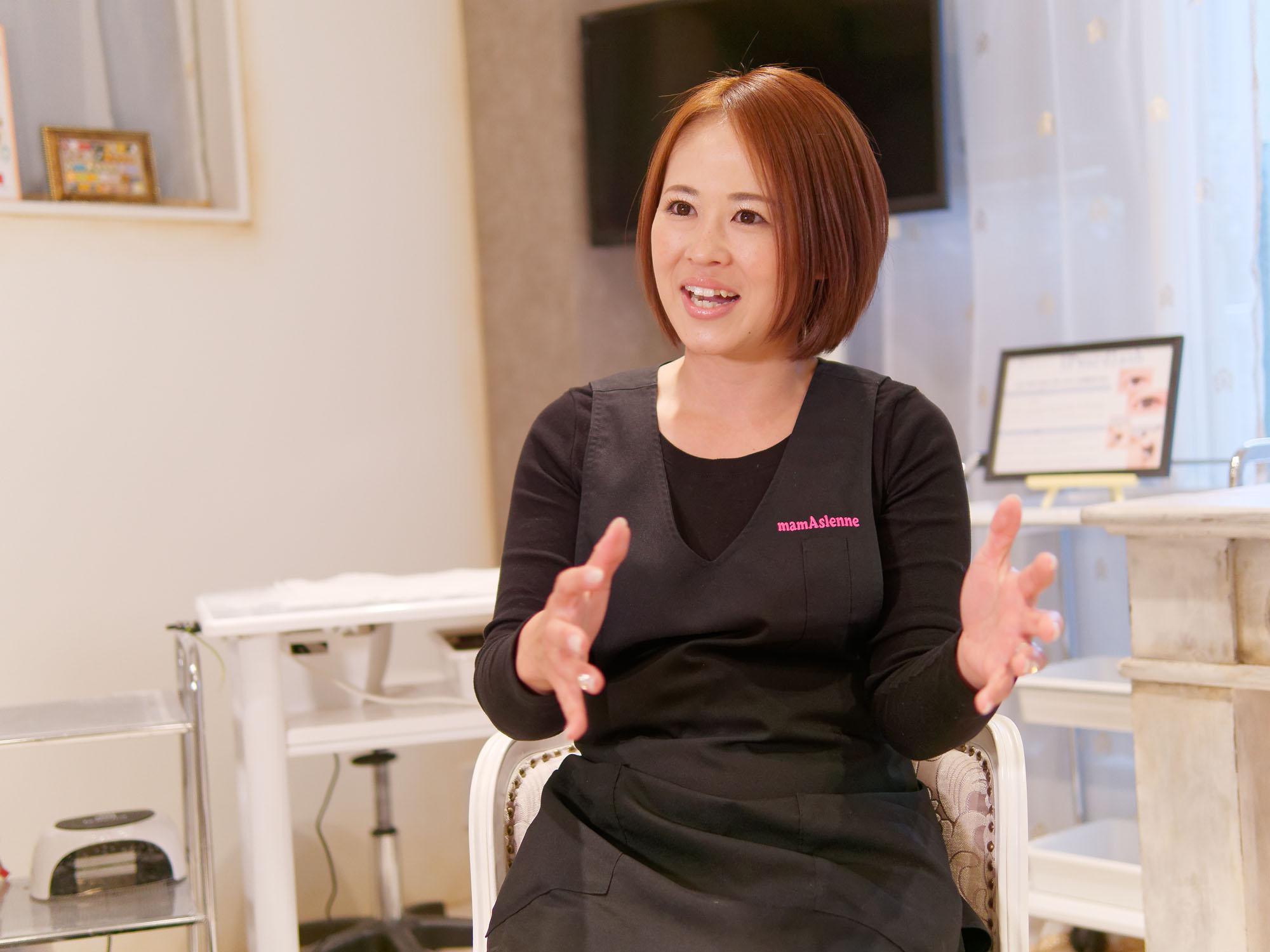 「私もオーナーである妹も専業主婦だったので、経営は初めて。どうしたら気持ちよく働いてもらえるか、ふたりで試行錯誤しています」と橋村さん